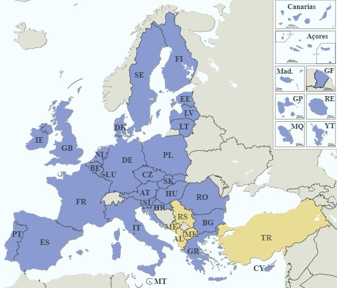 EU:s medlemsländer – en kort historik